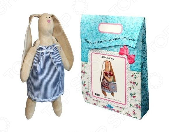 Подарочный набор для изготовления текстильной игрушки Кустарь Зайка Раиса это возможность своими руками сделать игрушечного друга. Очаровательная кукла Зайка Раиса 29 см , изготовленная в стиле Tilda, одинаково понравится детям и взрослым. Она может стать прекрасным подарком близкому человеку, а может поселиться в вашей комнате. Игрушку очень просто изготовить, следуя подробной инструкции, приложенной к набору. Для прорисовки лица игрушки вы можете использовать акриловые краски или растворимый кофе, а для тонирования клей ПВА. В набор входят: 1.Ткань для тела 100 хлопок , ткань для одежды 100 хлопок , супер пух для набивки. 2.Декоративные элементы, пуговицы, нитки для волос, ленточки, кружево, украшения. 3.Инструмент для набивания игрушки, выкройка, инструкция.