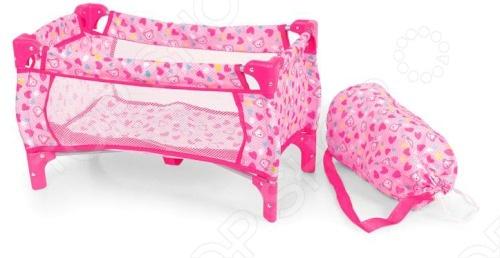 Кроватка для кукол 1 TOY Т54597