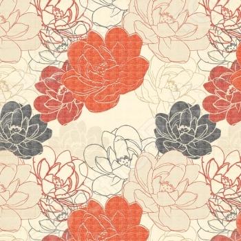 Бумага для скрапбукинга двусторонняя Teresa Collins Pretty Flowers