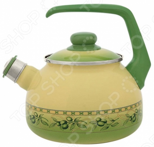Чайник со свистком Metrot Оливки