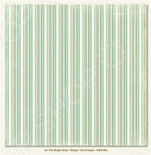 фото Бумага для скрапбукинга двусторонняя Morn Sun Stripe, купить, цена