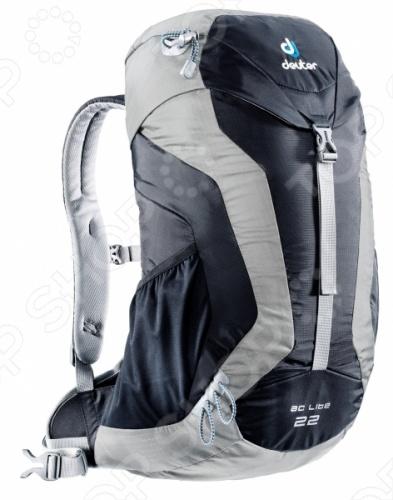 Рюкзак Deuter Aircomfort AC Lite 22 это отличный походный рюкзак, который составит вам добрую компанию в любом путешествии. Новый спортивный и урбанистический дизайн прекрасно смотрится и на тропинках в горах, и на оживленных улицах города. Идеально подходит для езды на велосипеде. Есть совместимость фиксатора для питьевой системы. Кроме того, рюкзак оснащен компрессионными ремнями, анатомическими плечевыми лямками и набедренным поясом с сетчатыми крыльями, двумя боковыми карманами.