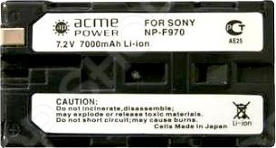 Аккумулятор для телефона AcmePower AP-NP-F970 аккумулятор acmepower ap np fv50 для видеокамеры sony
