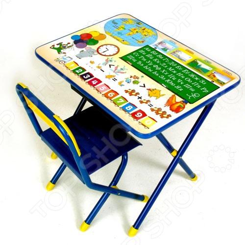 Набор мебели детский: стол и стул Дэми «Глобус»