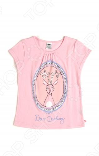 Футболка с рисунком Appaman Grammercy Deer DarlingФутболки для девочек<br>Appaman - основан в 2003 году дизайнером Харальдом Хузуме. Appaman имеет уникальный взгляд на скандинавский стиль AMERIPOP. Хузум находит вдохновение на улицах Бруклина и переводит его в свою постоянно меняющуюся палитру ярких одежд. Appaman, воплощая свои яркие творческие проекты, не забывает об удобстве и качестве для маленьких и главных людей. Вы считаете, что детская одежда должна быть не только удобной, но также стильной и индивидуальной Тогда бренд Appaman USA для Вас! Футболка с рисунком Appaman Grammercy Deer Darling. Прекрасная повседневная футболка для девочки из 100 хлопка нежно розового цвета. Модель оформлена оригинальной аппликацией. Отличный вариант на лето. Состав: 100 хлопок.<br>