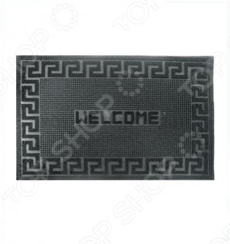 Коврик дверной Vortex волнистый. Welcome коврик придверный domcraft камешки welcome 89 56 см