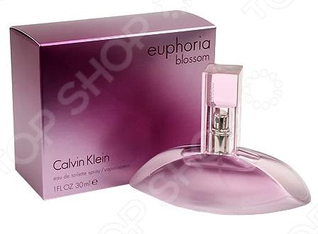 Туалетная вода для женщин Calvin Klein Euphoria Blossom, 30 мл туалетная вода calvin klein euphoria объем 100 мл вес 150 00