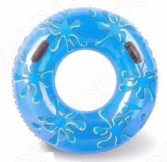 Круг надувной с ручками Bestway 36053Надувные круги<br>Круг надувной с ручками Bestway 36053 очень удобен для отдыха на воде в солнечную погоду. Дополнительно оборудован двумя удобными ручками. Диаметр круга: 107 см.<br>