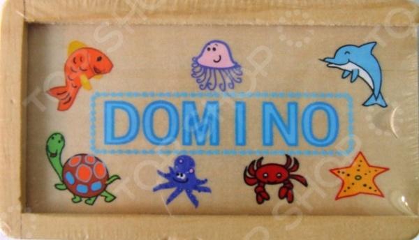 Домино ADEX «Морские обитатели»Домино<br>Домино - игра появившаяся в древнем Китае и Индии до сих пор пользуется большой популярностью, как среди взрослых, так и среди детей разной возрастной категории. Домино ADEX Морские обитатели - станет интересным и полезным подарком для ребенка. Игра в домино развивает в ребенке внимательность и наблюдательность, а так же способствует развитию ассоциативного и логического мышления. Так же не стоит забывать о том, что игра в домино - это отличная возможность родителям интересно и с пользой провести время с ребенком, ведь совместная деятельность крайне положительно сказывается на общем развитии детей. Игра выполнена из экологически чистых материалов, поэтому является абсолютно безопасной для ребенка. В набор входит 28 элементов.<br>