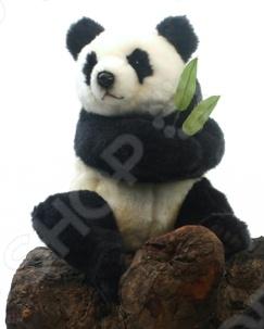 Мягкая игрушка Hansa «Панда сидящая» мягкие игрушки hansa обезьянка сидящая палевая 20 см