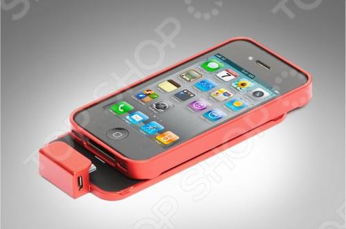 Аккумулятор Elari Appolo - BB1 для iPhone 4 4S отличается высокоэффективной работоспособностью до 170 часов работы в режиме ожидания. Данную модель можно в любой момент отсоединить, при этом ваш iPhonе будет надежно защищен стильным бампером, являющимся частью аккумулятора. На обратной стороне аккумулятора расположена кнопка включения и выключения подзарядки и светодиодный индикатор. Работа в режиме ожидания: до 170 часов. Работа в режиме разговора: до 3,5 часов.