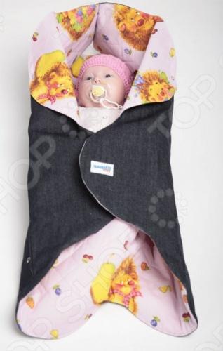 Конверт детский Ramili Baby Style рассчитан на возраст ребенка от 0 до 6 месяцев. При необходимости он раскладывается в удобный коврик для пеленания или игр. Коверт очень легок в обращении, поскольку все элементы конверта оснащены удобными кнопками, будет особенно актуален за пределами домашних стен, например, в поликлинике, где ребенка приходится раздевать. Внутри конверта предусмотрен специальный карман для ножек. Внутренний утеплитель обеспечивает достаточное для весны или лета тепло и в тоже время является мягкой основой для обеспечения уюта крохе.
