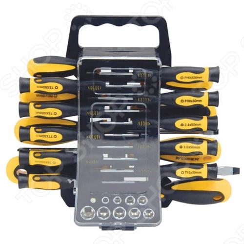 Набор отверток с битами и головками FIT 56407 FIT - артикул: 242209