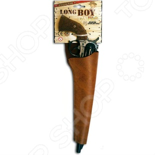 Пистолет Edison Giocattoli Long Boy Western