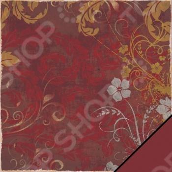 фото Бумага для скрапбукинга Rayher «Цветочный завиток», купить, цена