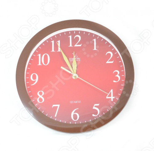 Часы настенные Вега П 1-9/7-55 Бордо Классика часы настенные вега п 1 7 7 271 классика