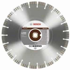 Диск отрезной алмазный для угловых шлифмашин Bosch Best for Abrasive 2608602688