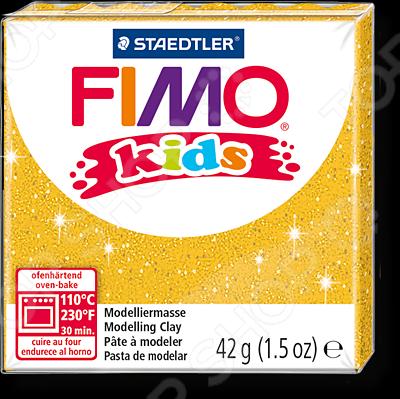 Глина полимерная для детей Fimo Kids 8030 представляет собой пластичный материал, предназначенный для моделирования и лепки различных изделий: сувениров, украшений, кукол, зверюшек и т.д. Для придания изделиям из глины прочности и твердости их необходимо запекать в духовке в течение 15-30 минут при температуре 110 C. Отлично подходит для детского творчества.
