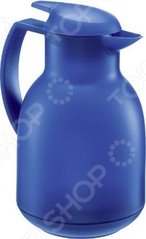 Термос-кувшин Leifheit BoleroТермосы и термокружки<br>Термос-кувшин Leifheit Bolero изготовлен из высококачественной пластмассы со стеклянной колбой внутри. В нем температура содержимого может сохраняться до 12 часов. Сохранять температуру в чайнике-термосе можно как холодных, так и горячих напитков. Из чайника без труда можно наливать жидкость при помощи специальной клавиши на крышке.<br>
