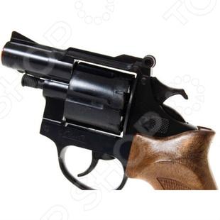 Пистолет с глушителем Edison Giocattoli Фантом пистолет edison giocattoli ларами