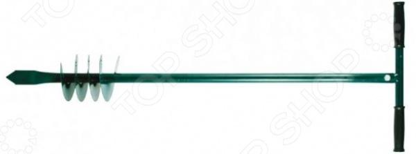 Бур ручной для почвы FIT 77240Вилки. Разрыхлители<br>Бур ручной для почвы FIT 77240 станет отличным дополнением к набору ваших дачных принадлежностей. Инструмент весьма компактен и удобен в использовании, предназначен для проделывания отверстий в грунте для дальнейшего высаживания растений или внесения подкормки. Модель изготовлена из высококачественной инструментальной стали и снабжена удобной рукояткой длиной 110 мм.<br>