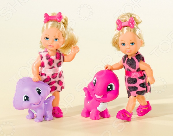 Кукла с аксессуарами Simba «Еви с динозавриком». В ассортименте