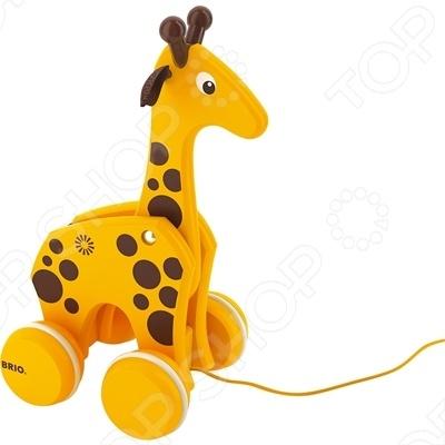 Каталка-жираф Brio 30200 игрушка brio 33306