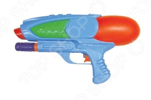 Пистолет водный Тилибом Т80387Водные пистолеты<br>Товар продается в ассортименте. Цвет изделия при комплектации заказа зависит от наличия цветового ассортимента товара на складе. Пистолет водный Тилибом Т80387 яркий водный пистолет, готовый стать прекрасным развлечением для вас и ваших детей в жаркий солнечный день лета. Для его использования не требуется много усилий - просто залейте в емкость воду, после чего пистолет готов стрельбе. Он достаточно мощный и струя доходит очень далеко. Приятного времяпрепровождения !<br>