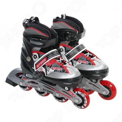 Детские роликовые коньки ATEMI AJIS-02. Размер: 27-30. Уцененный товар