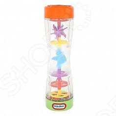 Игрушка развивающая Цветной дождь понравится как малышу, так и маме. Стоит перевернуть погремушку и разноцветные шарики будут смешиваться через спиральки. Разноцветные шарики переворачиваются с треском. Занимательные колесики и спиральки привлекут внимание малыша. игрушка поможет развить моторику, а также цветовые навыки.