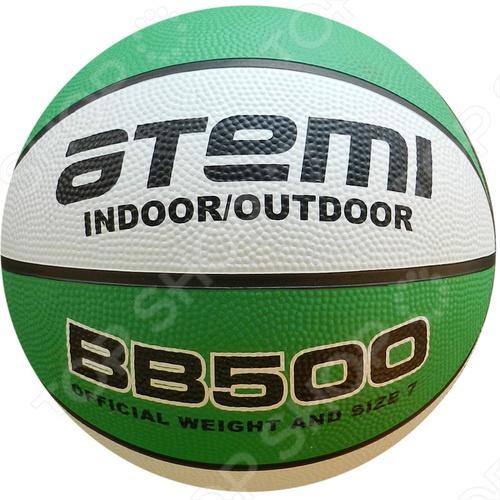 Мяч баскетбольный ATEMI BB500 замечательно подойдёт для игры во всеми любимый баскетбол, остающийся уже долгие годы актуальным, интересным и популярным видом спорта. Ни для кого не секрет, что активные физические нагрузки очень полезны и нужны человеческому организму. А баскетбол - это, пожалуй, одна из тех игр, в которых активно работают практически все мышцы тела, тренируются лёгкие, выносливость, сила. Подарите себе и близким радость любимой игры!