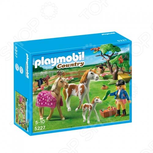 Лошади:Загон для лошадей Playmobil 5227 5227pm железо для лошадей украина