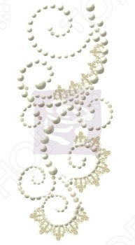 фото Аппликация самоклеющаяся Prima Marketing Swirls lace 1, купить, цена