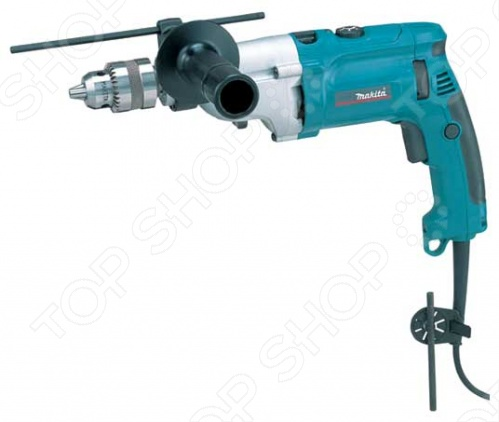 Дрель ударная Makita HP2070F makita hp2070f ударная дрель blue