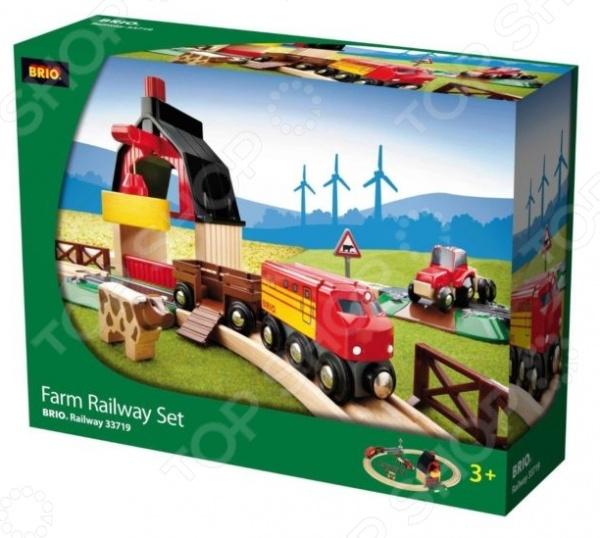 фото Железная дорога с мини-фермой и кормушкой Brio 33719, Железные дороги