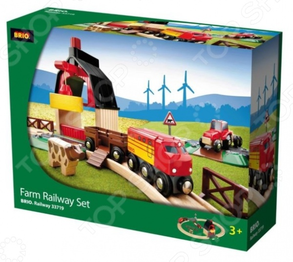 Железная дорога с мини-фермой и кормушкой Brio 33719