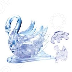 Кристальный пазл 3D Crystal Puzzle «Лебедь» 3d головоломка лебедь черный