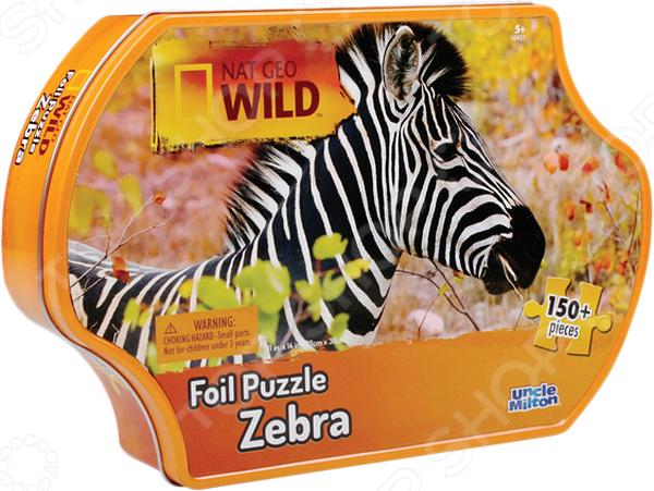 Пазл 150 элементов Uncle Milton «Зебра» пазлы uncle milton пазл 3 в одном в жестяной коробке nat geo wild games