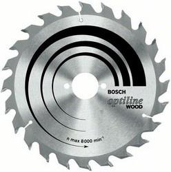Диск отрезной для ручных циркулярных пил Bosch Optiline Wood 2608640593 диск отрезной для ручных циркулярных пил bosch multi material 2608640513