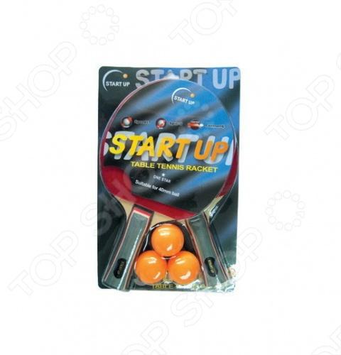 Набор для настольного тенниса Start Up BR-06/1 star ракетка для настольного тенниса torres hobby tt0003