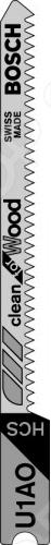 Набор пилок для лобзика Bosch U 1 AO HCS пилка для лобзика bosch 2609256746 2609256746
