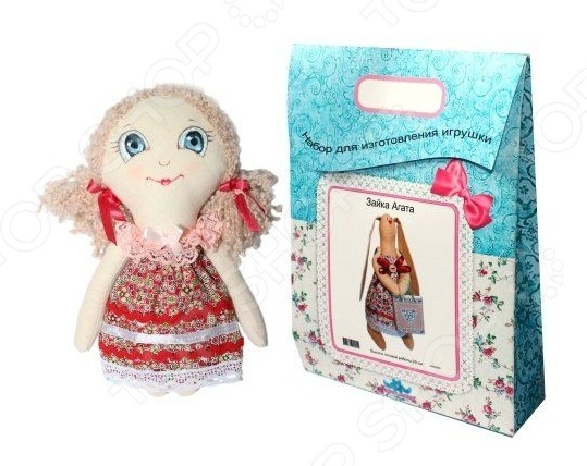 Подарочный набор для изготовления текстильной игрушки Кустарь «Анечка»Изготовление кукол<br>Подарочный набор для изготовления текстильной игрушки Кустарь Анечка это возможность своими руками сделать игрушечного друга. Очаровательная кукла Анечка 22 см , изготовленная в стиле Tilda, одинаково понравится детям и взрослым. Она может стать прекрасным подарком близкому человеку, а может поселиться в вашей комнате. Игрушку очень просто изготовить, следуя подробной инструкции, приложенной к набору. Для прорисовки лица игрушки вы можете использовать акриловые краски или растворимый кофе, а для тонирования клей ПВА. В набор входят: 1.Ткань для тела 100 хлопок , ткань для одежды 100 хлопок , супер пух для набивки. 2.Декоративные элементы, пуговицы, нитки для волос, ленточки, кружево, украшения. 3.Инструмент для набивания игрушки, выкройка, инструкция.<br>