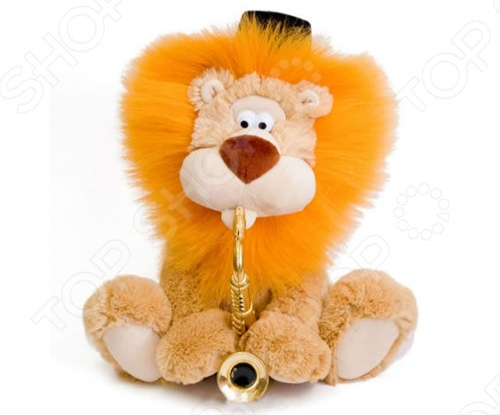 Отличную танцевальную мелодию Семь сорок споет для вас интерактивная игрушка Лев чубчик , весело наигрывая ее на своей трубе. Зверек ритмично наклоняется влево и вправо и создает ощущение настоящей игры. Будет оригинальным подарком, который поднимет настроение покупателям всех возрастов, а также всем любителям еврейской культуры. Работает от 3 батареек типа АА входят в комплект .