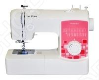 Швейная машина BROTHER ModerN 27Швейные машины<br>Электромеханическая швейная машинка BROTHER ModerN 27 с 25 видами строчек. Горизонтальный челнок. Регулировка длины стежка. Обмётывание петли в 4 приёма. LED-освещение. BROTHER ModerN 27 идеально подойдет для выполнения основных швейных операций при изготовлении и ремонте одежды.<br>