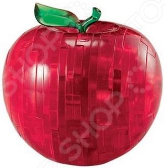 Кристальный пазл 3D Crystal Puzzle «Яблоко красное» пазлы crystal puzzle головоломка лев