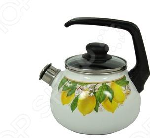 Чайник со свистком Vitross Limon чайник сф со свистком 3 0л peony vitross 916570