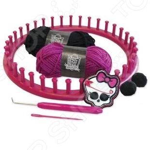 Набор для вязания шапочки Mattel «Школа монстров»