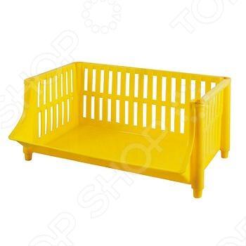 Лоток хозяйственный FIT 65698Сумки. Ящики. Шкафы для инструментов<br>Лоток хозяйственный предназначен для хранения хозяйственных принадлежностей. Имеется возможность соединения нескольких лотков между собой в вертикальную стойку. Материал: пластик.<br>