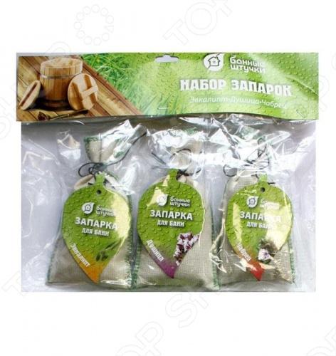 Набор запарок в сумочке Банные штучки «Эвкалипт, Душица, Чабрец» Банные штучки - артикул: 55612