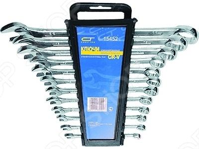 Набор ключей комбинированных СИБРТЕХ 12 шт. набор ключей комбинированных сибин 27089 h6